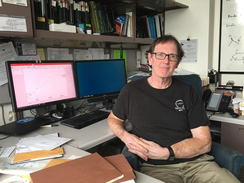 Greg Boyer is a SUNY Environmental Science and Forestry professor and the director of the consortium.