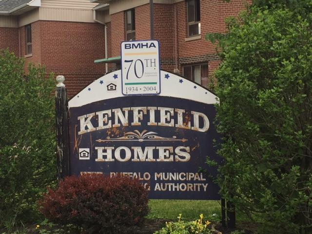 WBFO's Mike Desmond visited Kenfield/Langfield Homes June 5.