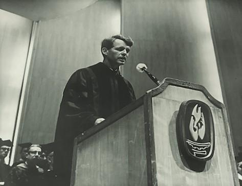 Addressing The Buffalo State College Commencement, June 5, 1965