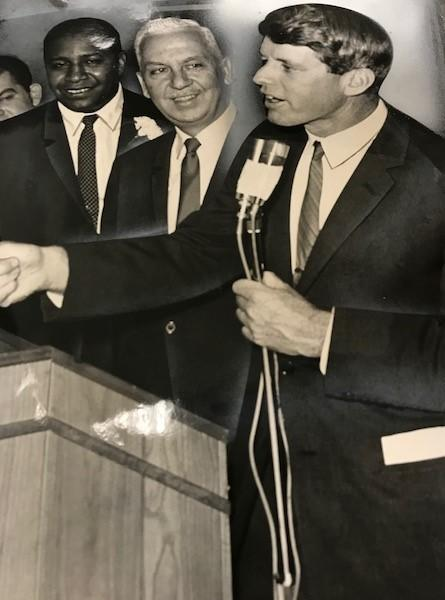 With Judge William Sims and Buffalo Mayor Frank Sedita, 1964