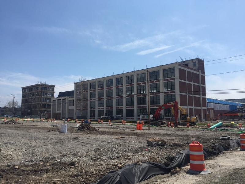 Northland training center takes shape