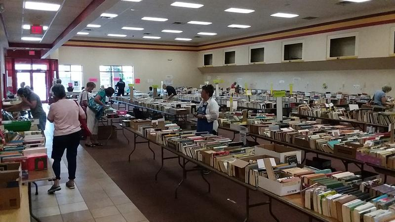 You want books? There are tens of thousands at the AAUW sale, which funds the organization's scholarships.