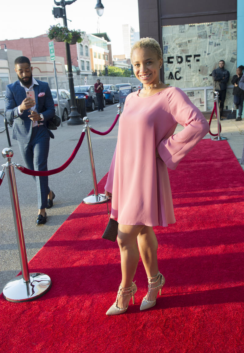 Pretty in pink on the red carpet
