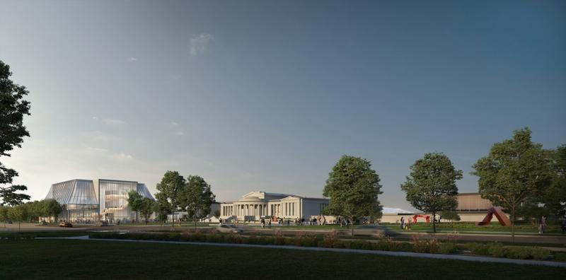 Rendering of the Albright-Knox expansion.