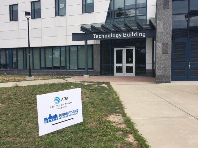 The AT&T Coding Your Future runs through August 10th at SUNY Buffalo State.