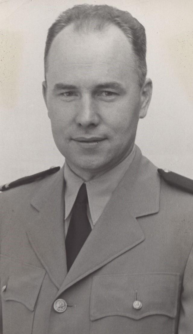 Father Thomas Conway, Navy chaplain for the  USS Indianapolis.