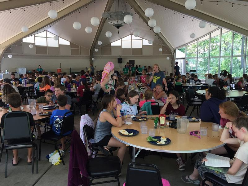 Lunch with the Wendt Shelter.