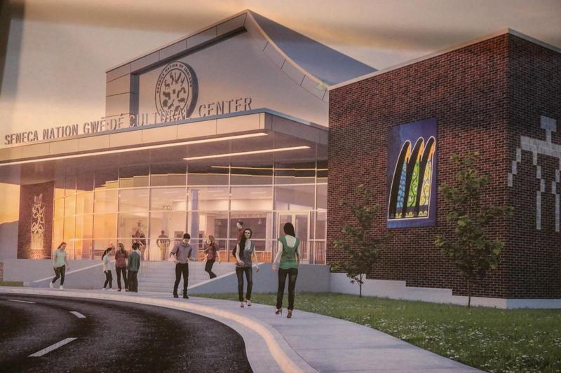 Rendering of Seneca Nation Living Cultural Center