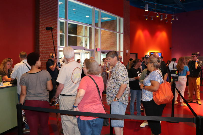 First visitors to the National Comedy Center