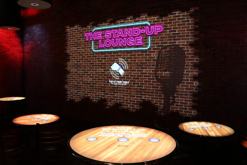 The interactive Stand-Up Lounge