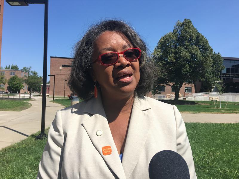 Buffalo State President Katherine Conway-Turner.