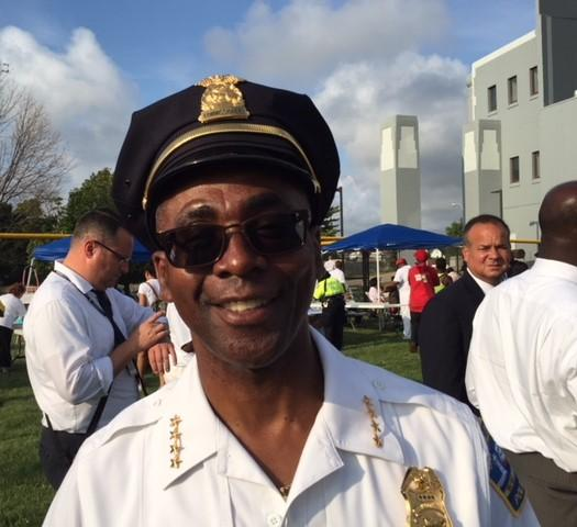 Buffalo Police Comissioner Byron Lockwood made the rounds Tuesday night.
