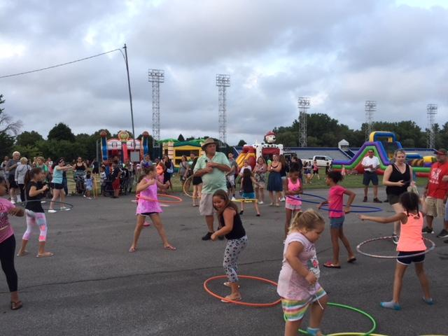 Fun outweighed the violence during this year's National Night Out.