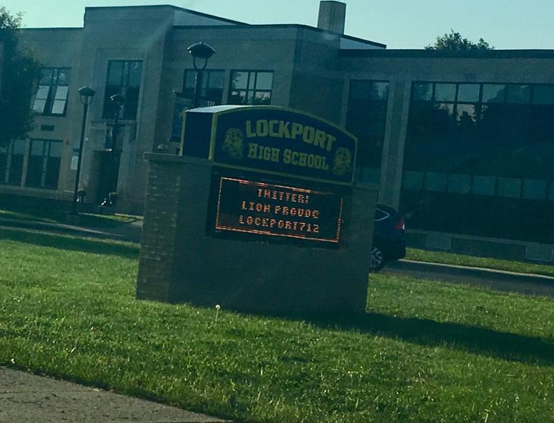Lockport High School.