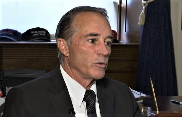 Rep. Chris Collins breaks his silence since being indicted in August.