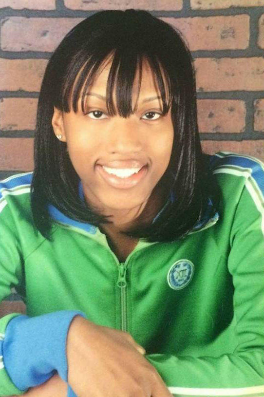 India Cummings in a graduation photo from Wilson High School in Rochester.