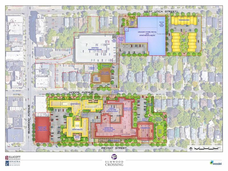 Map of Elmwood Crossing neighborhood