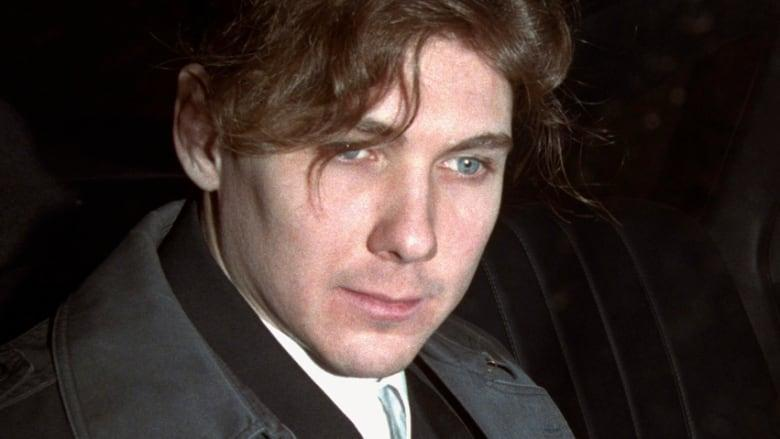 Paul Bernardo in police custody in 1994.