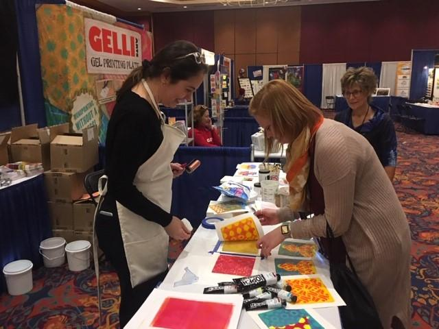 Art educators attended the New York State Art Teachers Association Conference in Buffalo.