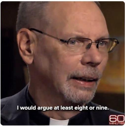 Fr. Bob Zilliox talks with CBS News Sunday.