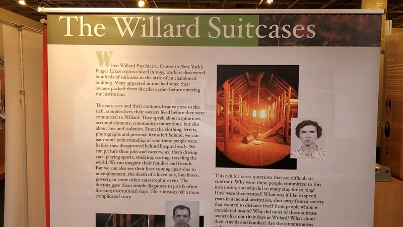 Some items from Willard Suitcases at disABILITY Museum.