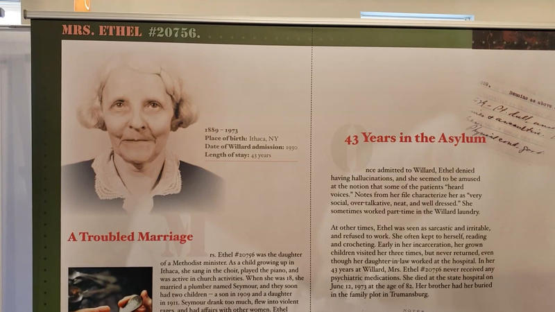 Stories from Willard Suitcases exhibit at disABILITY Museum.