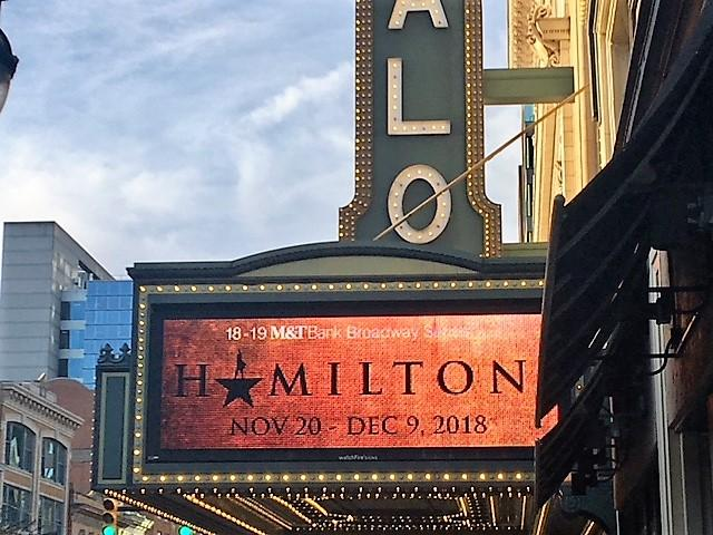 HAMILTON opens at Shea's Performing Arts Center Tuesday