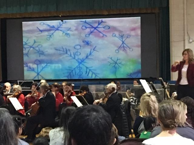 BPO performs at St. Mary's School for the Deaf.