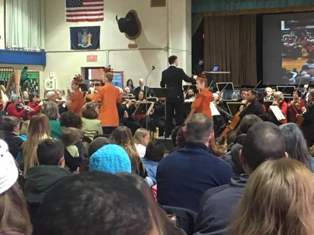 BPO performs at St. Mary's School for the Deaf with Royal Academy of Ballet.