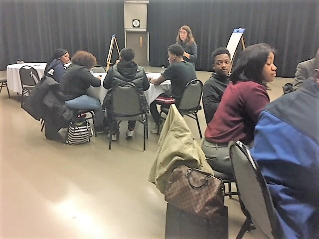 Some area high school students from the cities of Buffalo and Niagara Falls participated in a small focus group in our WNED/WBFO studio.