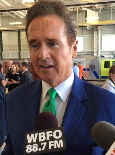 After cruising to reelection, Congressman Brian Higgins wants his colleagues to focus on healthcare and infrastructure.