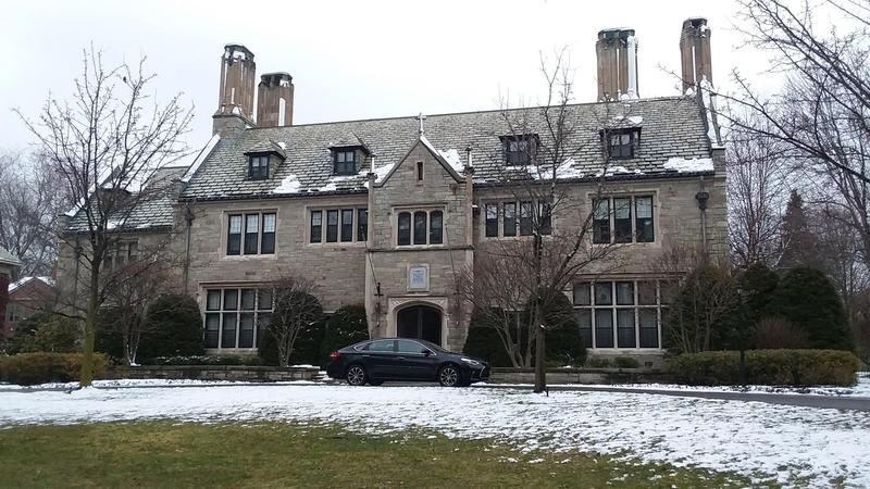 The bishop's former residence on Oakland Place has been sold.