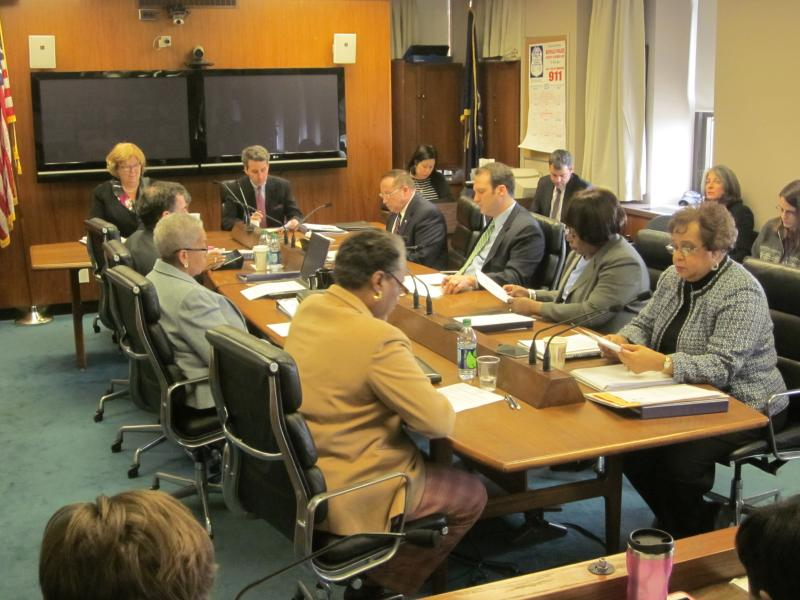 The Buffalo School Board met in special session to discuss the district's new teacher evaluation plan
