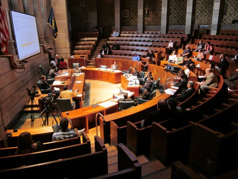 Buffalo Common Council chamber