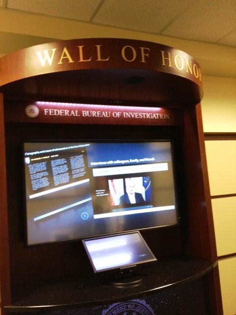 "Buffalo FBI's electronic ""Wall of Fame"""