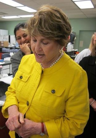U.S. Congresswoman Louise Slaughter