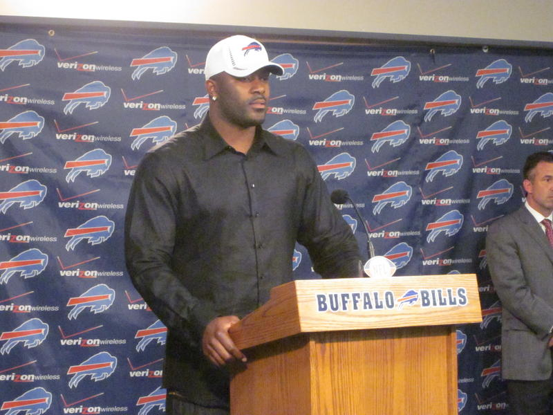 "Mario Williams says he is ""ecstatic"" be to a Buffalo Bill"