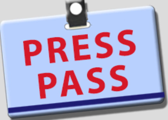 Press pass pictures to pin on pinterest pinsdaddy for Media press pass template