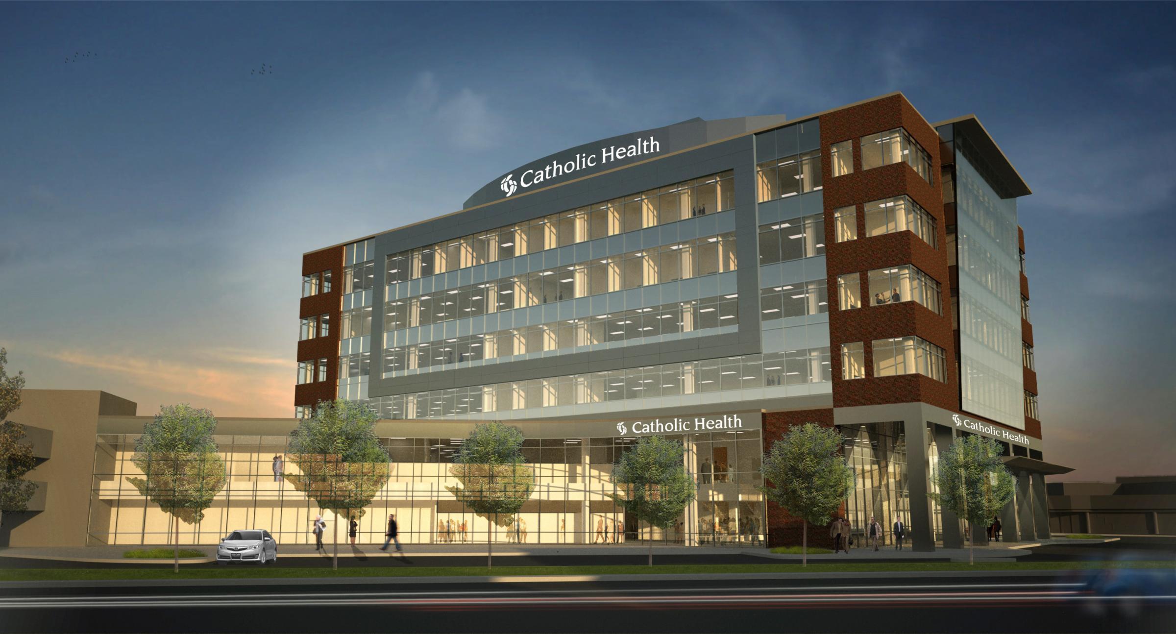 Catholic Health To Build New Downtown Headquarters Wbfo