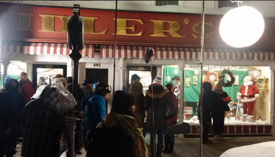 film crews used vidlers and other sites in east aurora while shooting scenes last winter a for a prince for christmas - Prince For Christmas