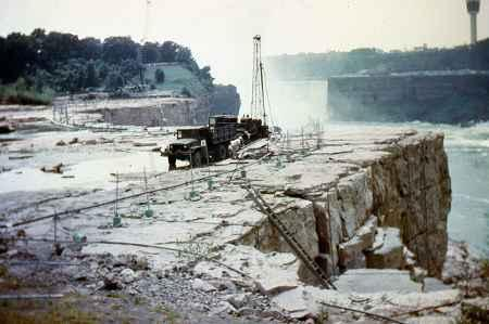 Bridge Plan May Temporarily Halt Flow of Niagara Falls