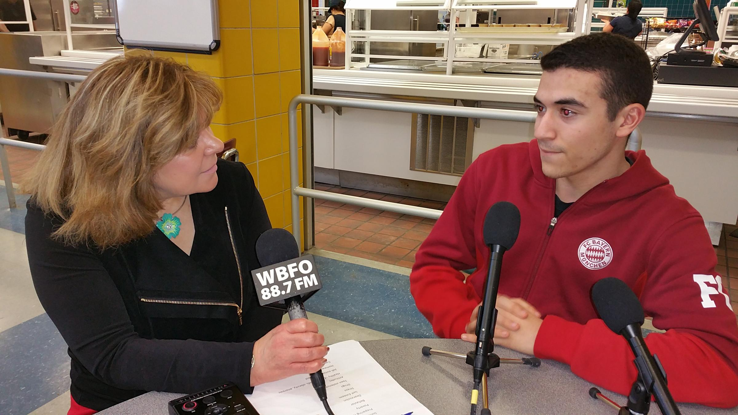 piece cafeteria chats teen violence bullying time lt src news wbfo org sites wbfo files styles default public 201703 20170201 121245 jpg alt niagara falls high school students join our
