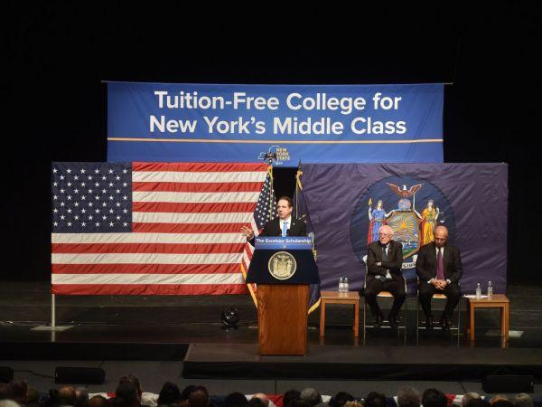 New York Set To Offer Free Tuition At 4-Year Colleges