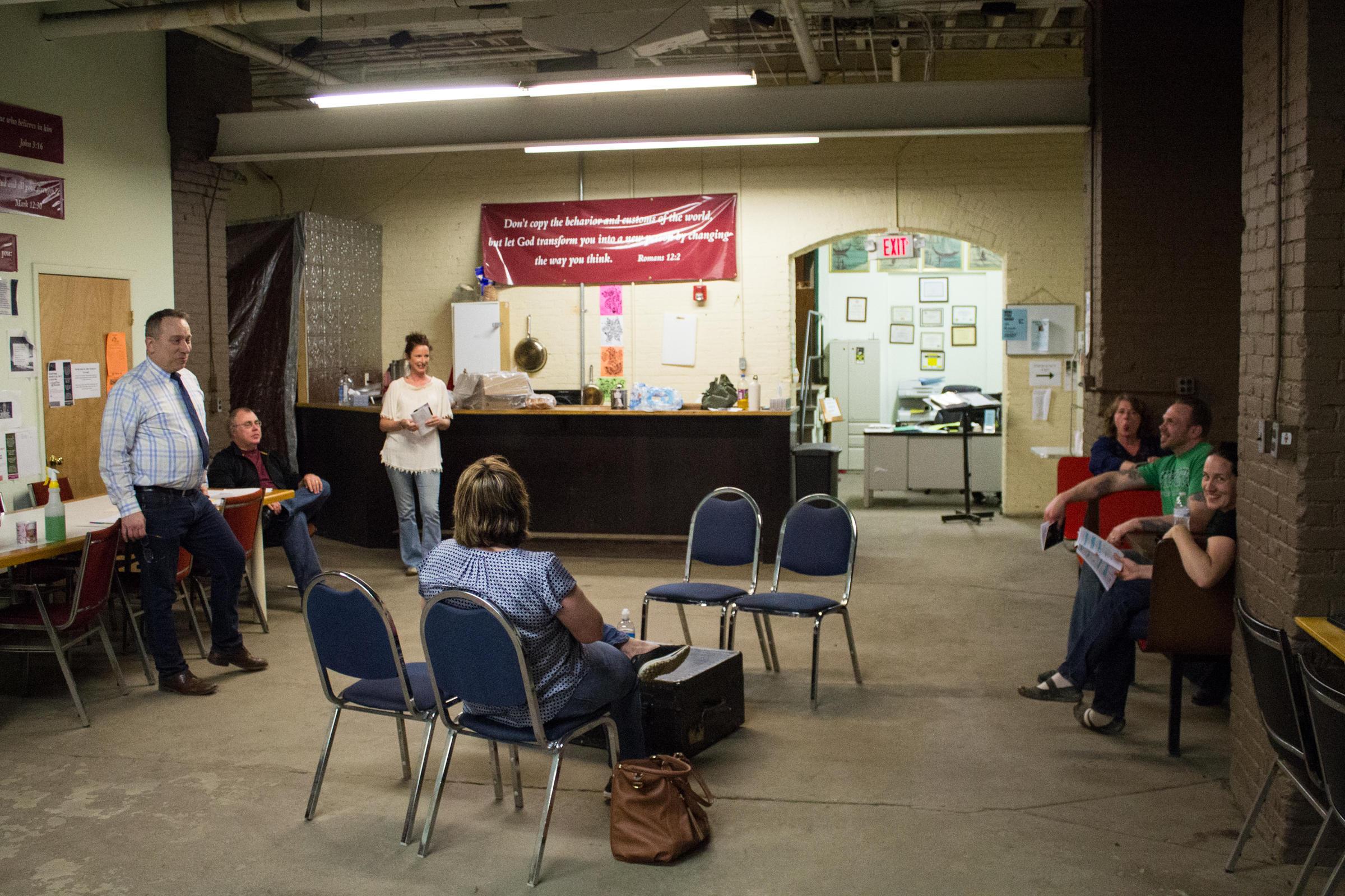 In The Battle Against Opioid Addiction Jamestown Church Tries New