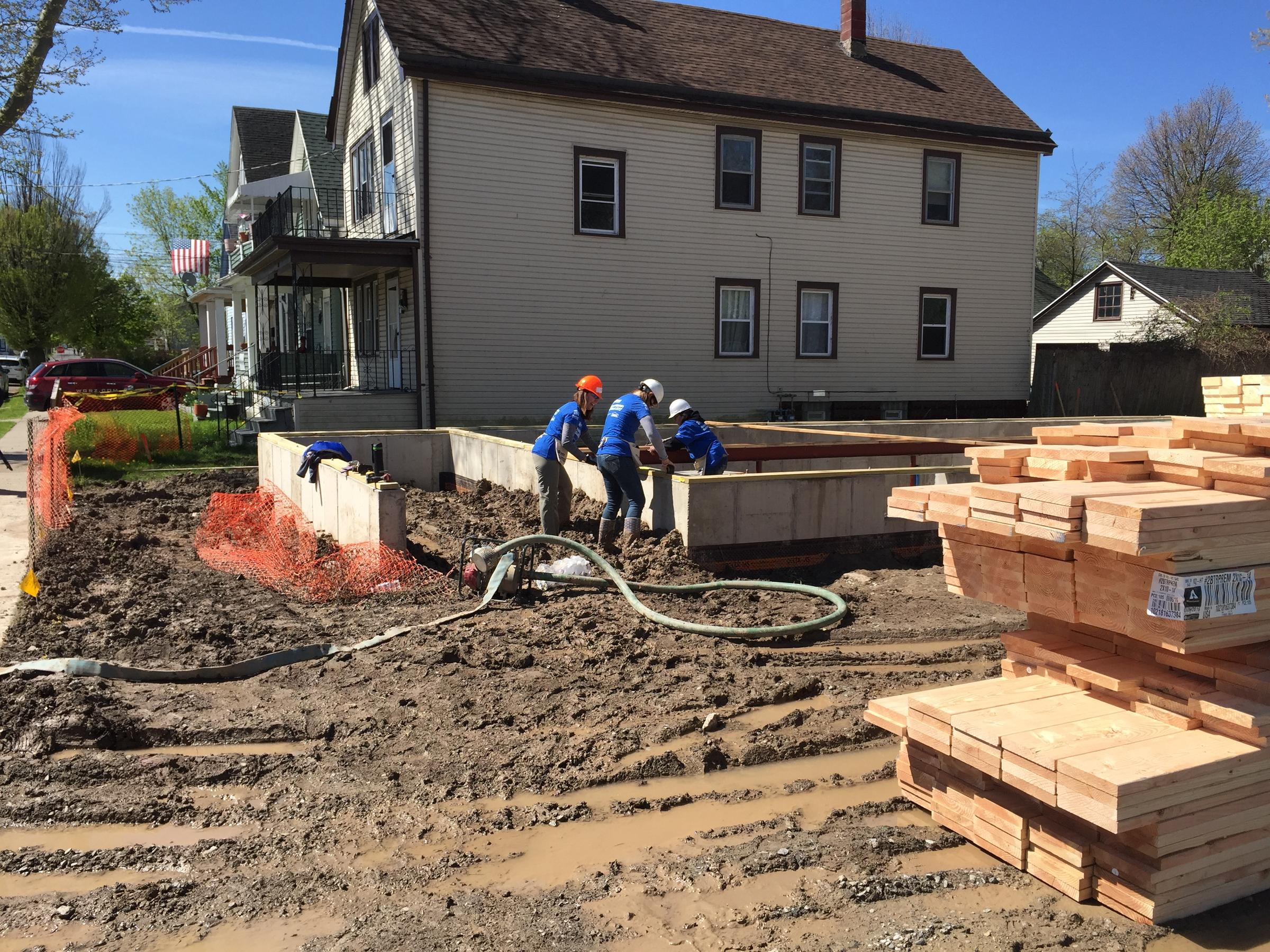 Habitat for Humanity Women Build finishes in record time