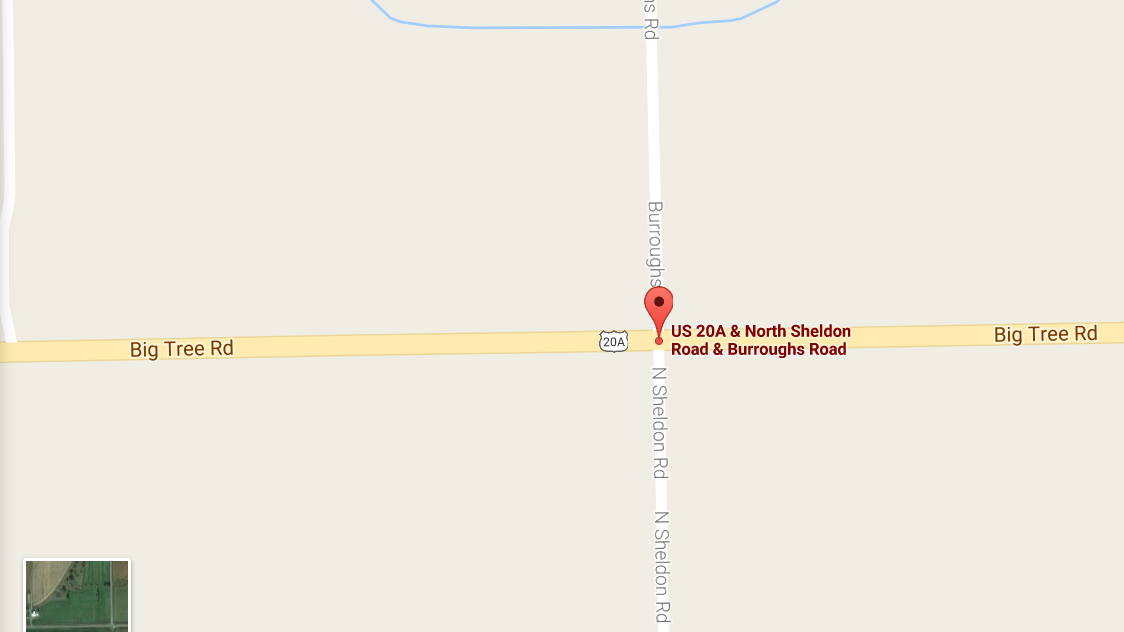 Woman Killed In Wyoming County Crash WBFO - Wyoming county map