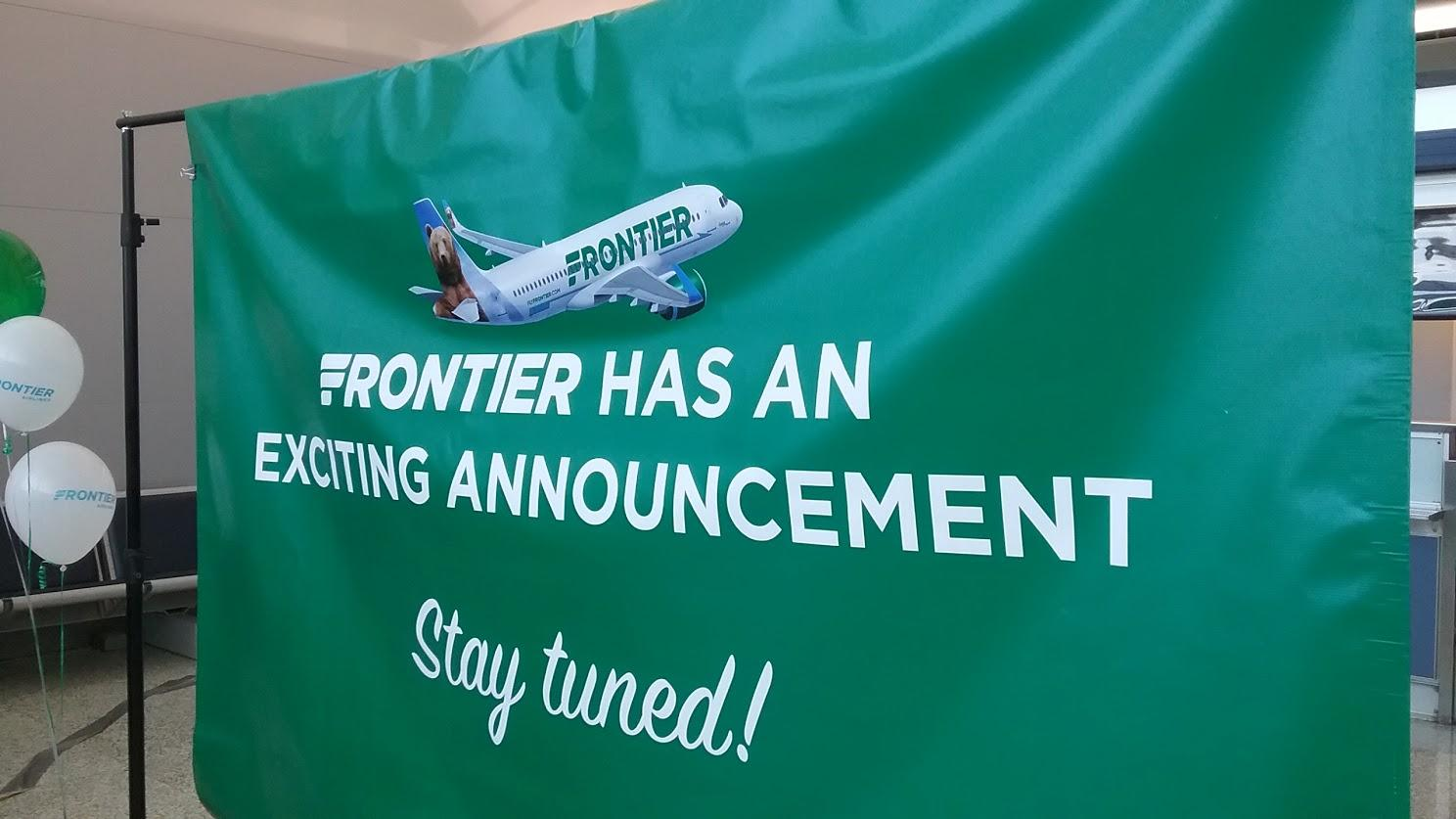 Frontier adds flights from TF Green to 6 new cities