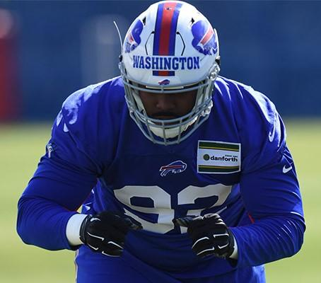 Bills DT Washington arrested