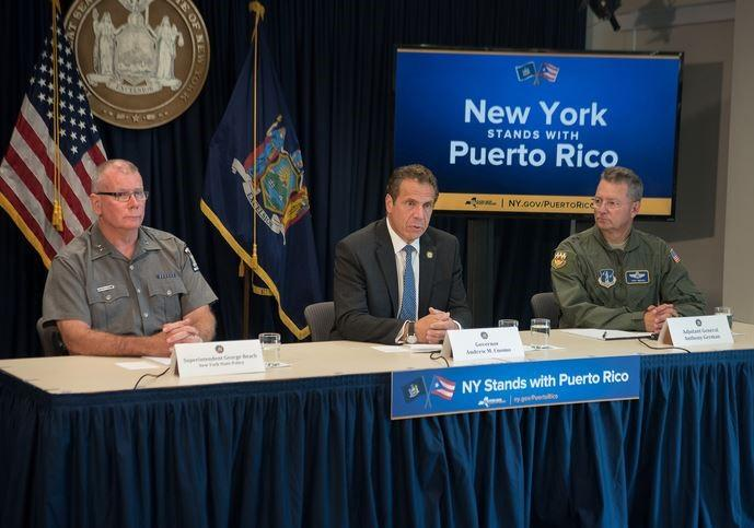 US Personnel On the Ground In Puerto Rico Helping With Relief Efforts