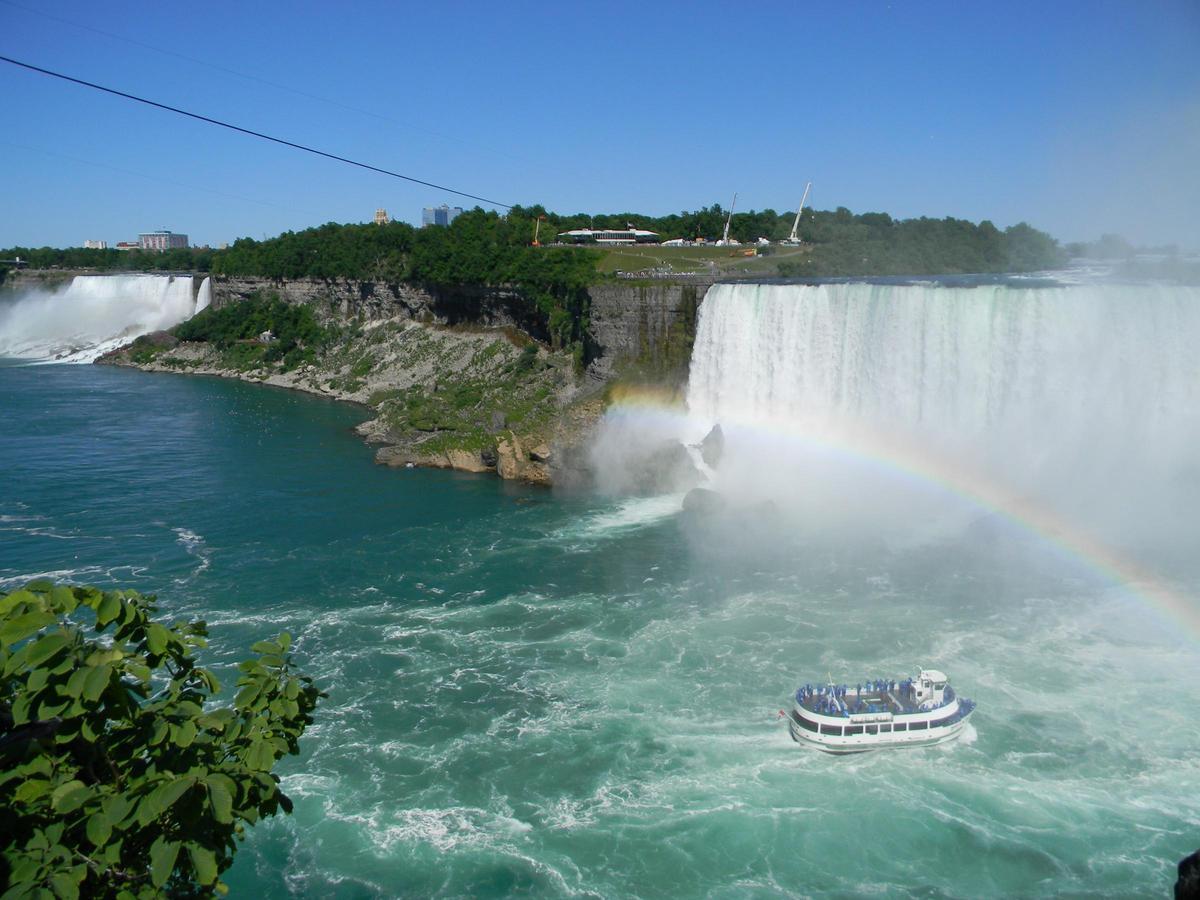 Another sewage discharge at Niagara Falls